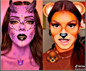 Makeup Inspired By Emojis